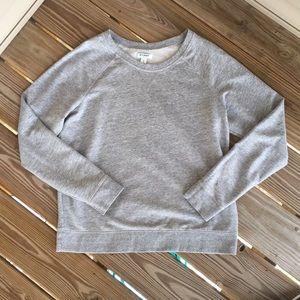 Old Navy Grey Pullover Sweatshirt